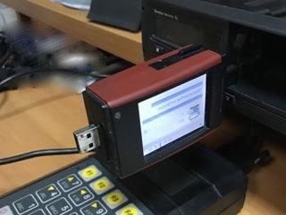Считывание данных с чип карты водителя