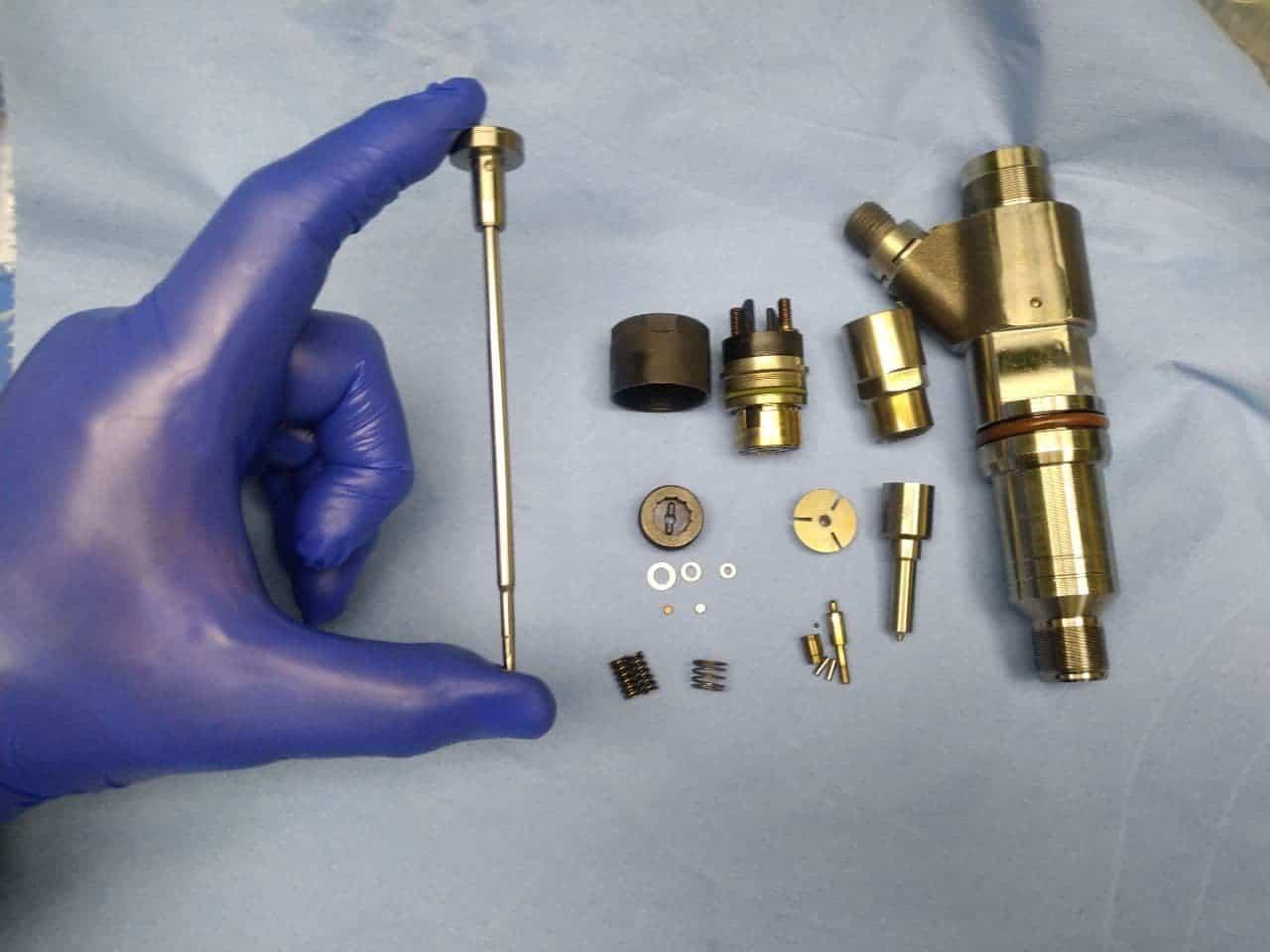 Діагностика та ремонт дизельных форсунок