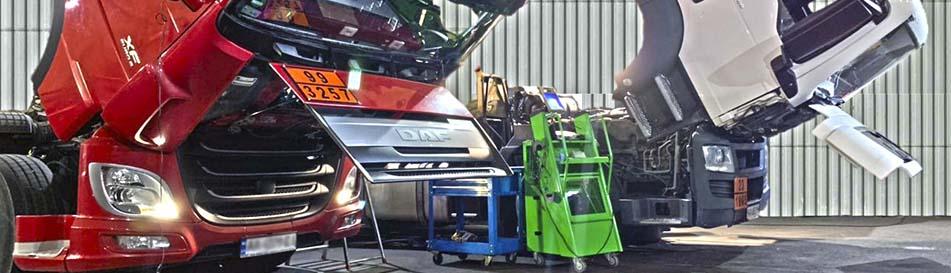диагностика и ремонт грузовых авто